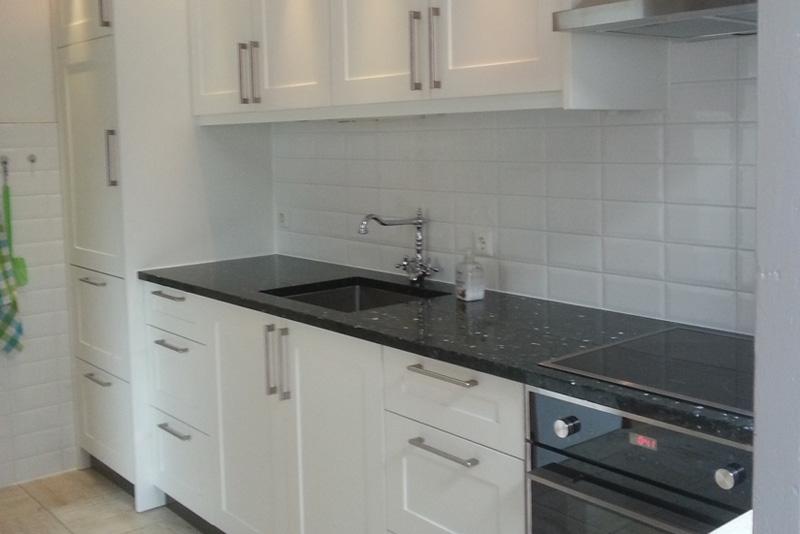 witte keuken op maat